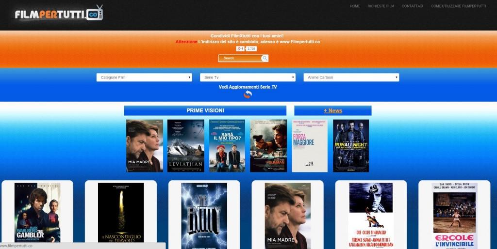 Film Gratis 5 siti per vedere film gratis sul Pc film per tutti