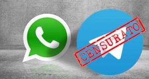 Whatsapp censura Telegram i link non sono cliccabili