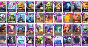 Clash Royale: Tutte le Carte del gioco