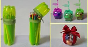 Riciclare le Bottiglie di Plastica: 10 utilizzi creativi