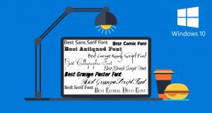 Come cambiare lo stile dei caratteri in Windows 10