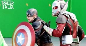 """Tanta azione nel """"dietro le quinte"""" di Captain America: Civil War [HD]"""