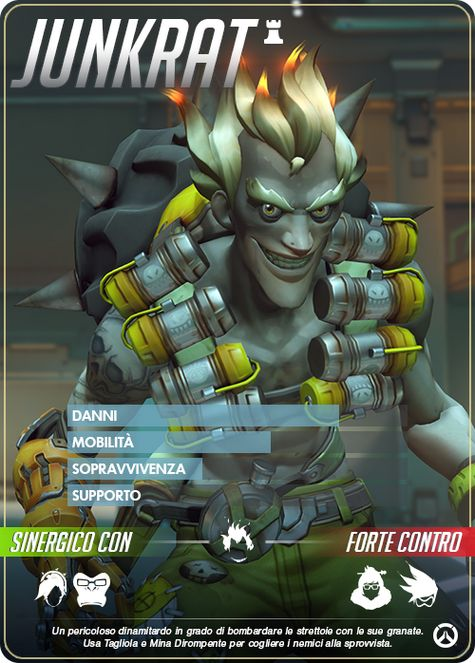 Overwatch junkrat carta