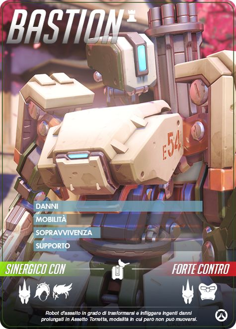 Overwatch bastion carta