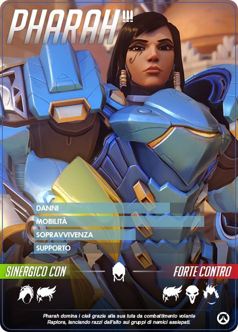 Overwatch PHARAH carta