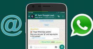 Taggare Amici su Whatsapp: la nuova funzione per i gruppi