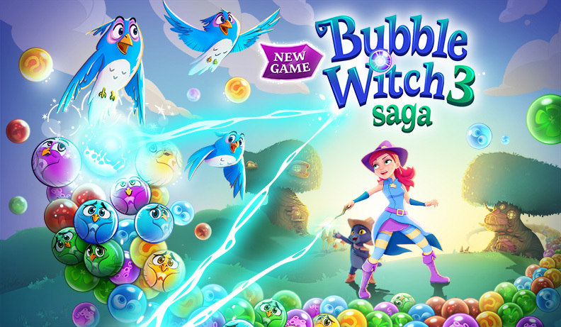 Trucchi Bubble Witch 3 Saga: Palle infinite e Boosters illimitati