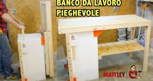 [Video FaiDaTe] Banco da lavoro pieghevole fai da te – Folding workbench