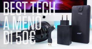 [Video Hi-Tech] Tecnologia da viaggio a meno di 50€