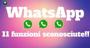 [Video Hi-Tech] WhatsApp, 11 funzioni poco conosciute ma molto utili!