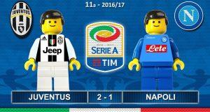 [Video Sport] JUVENTUS NAPOLI 2-1 • Serie A 2016/17 ( Film in Lego Calcio ) Goal e Highlights Sintesi Juve