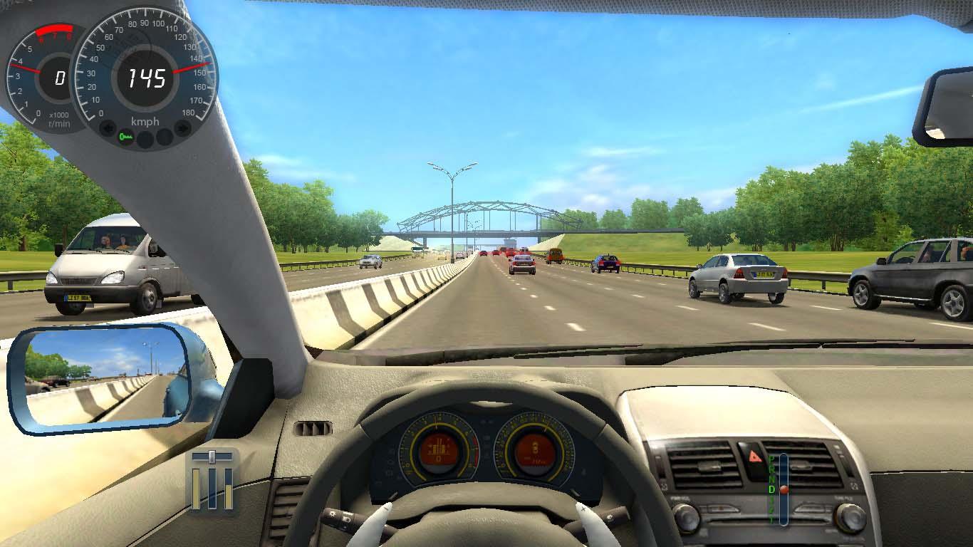 City Car Driving: simulatore di guida auto realistico