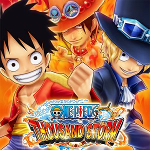 One Piece Thousand Storm nuovo gioco pirata 3D per Android e iOS