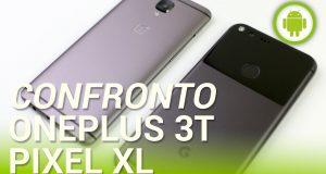 [Video Hi-Tech] OnePlus 3T vs Google Pixel XL, confronto in italiano