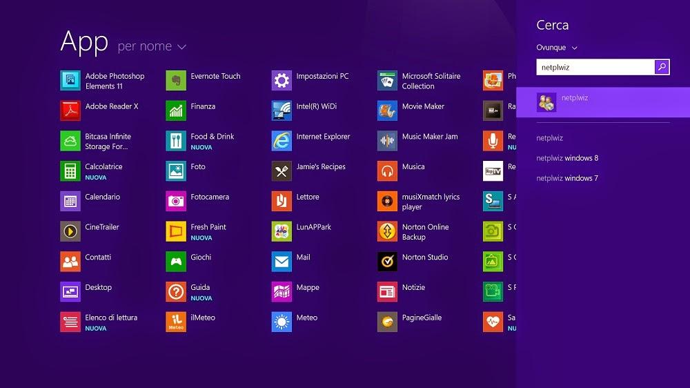 Come creare pi account con app personali su windows 8 1 for Come creare i miei progetti personali