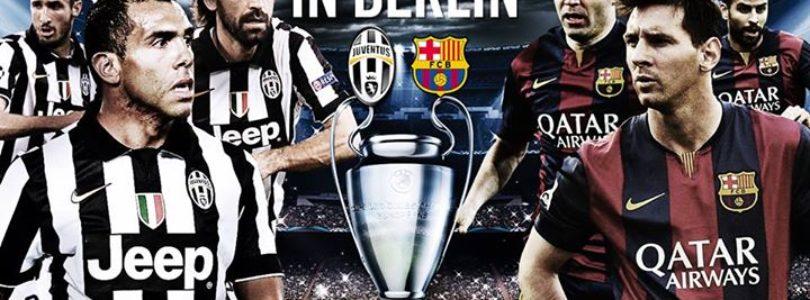 Juventus -Barcellona: Come vedere la finale in diretta online Streaming