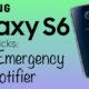 Trucco Samsung Galaxy S6: invio SMS in caso di emergenza