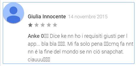 I Migliori Peggiori commenti del Google Play Store 7