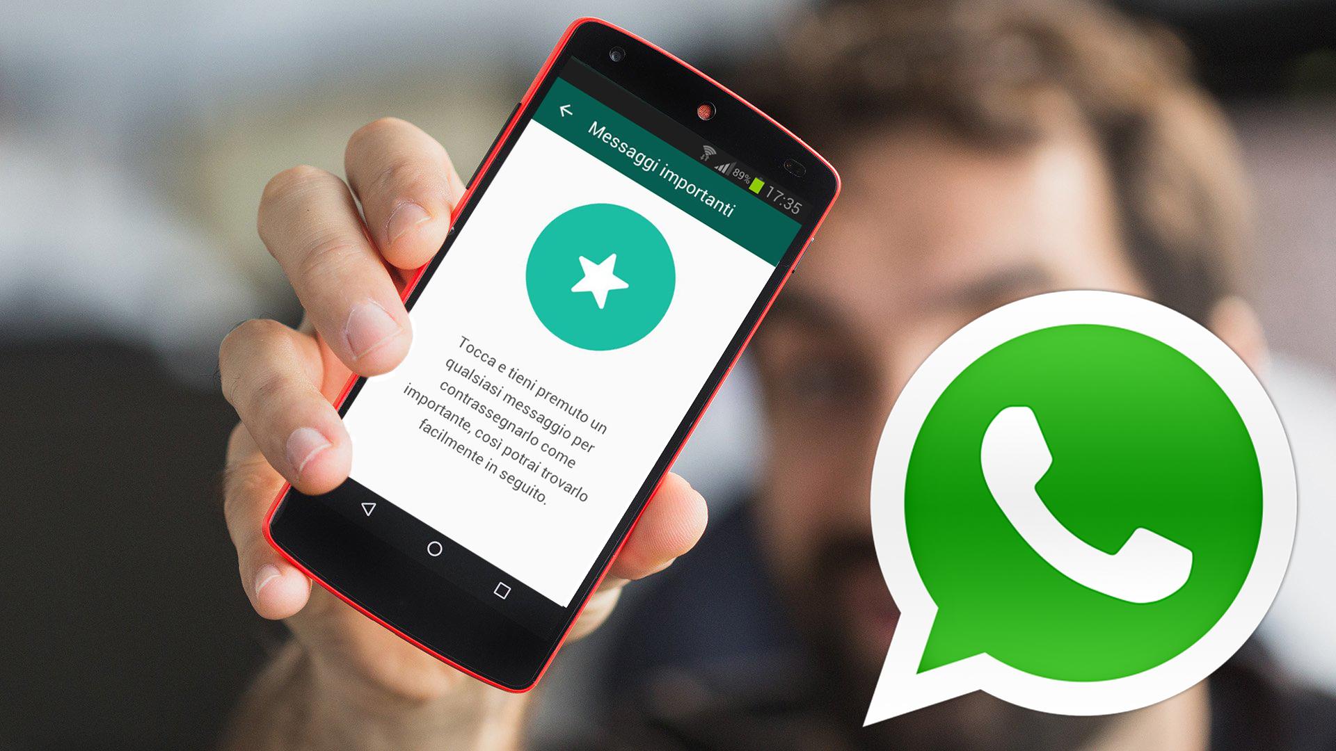 Trucchi WhatsApp Come salvare i messaggi importanti