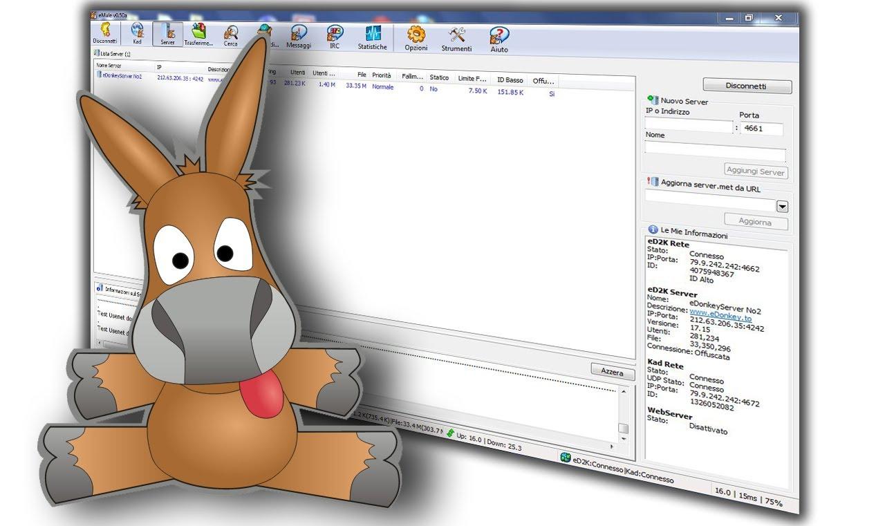 Come scaricare file sicuri con Emule Forum Link ed2k 2016