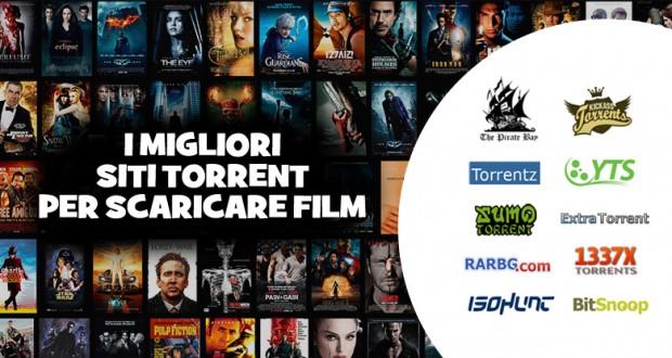 I migliori siti torrent italiani per scaricare film e serie tv