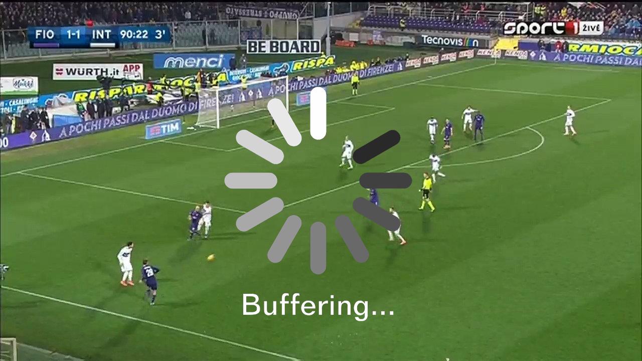 Partite di Calcio Streaming si bloccano? 5 trucchi per risolvere