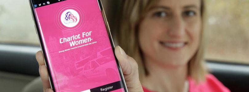 L'App Chariot: l'Uber per le donne e bambini