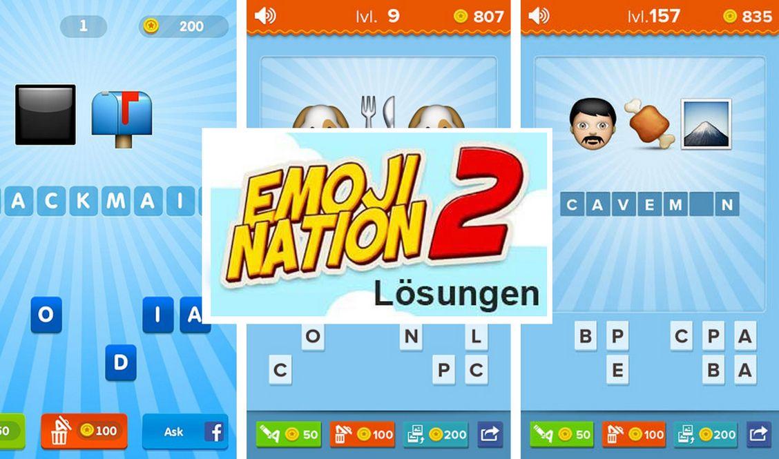 Soluzione EmojiNation 2: Parole nascoste dal livello 21 al 29
