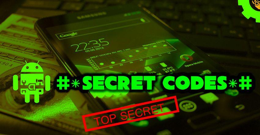 Android: Codici segreti Menu nascosti