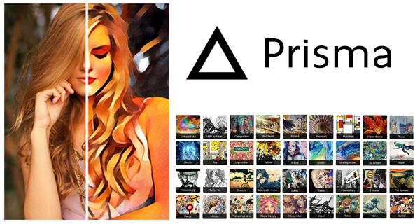 Trasformare foto in quadri, dipinti e opere d'arte con Prisma