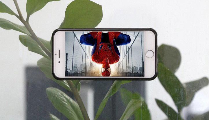 Cover antigravità la nuova custodia aspirante per smartphone