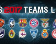 Guida Pes 2017: i nomi veri delle squadre di calcio