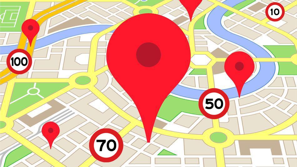 Limiti di velocità su Google Maps