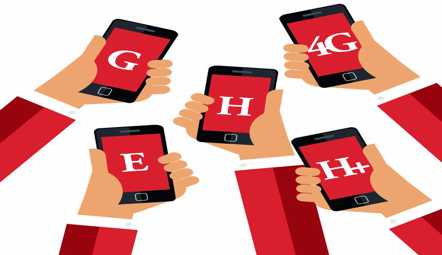 GPRS, E, H, H+, G, 3G, 4G : Significato, Velocità e Differenze