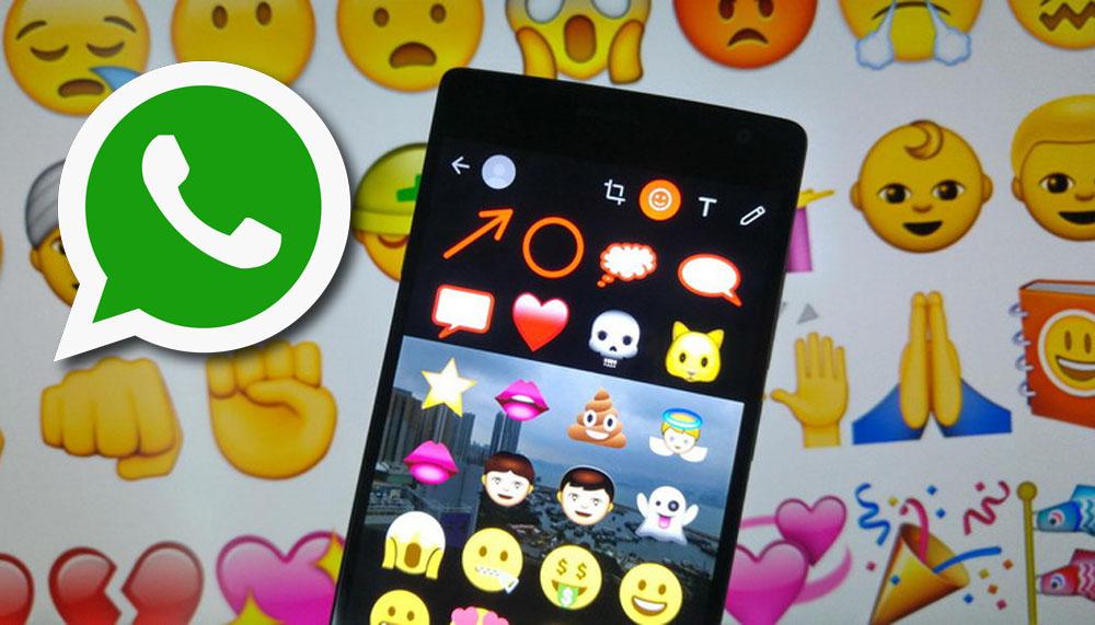 WhatsApp: Come disegnare, aggiungere testo e emoji su foto