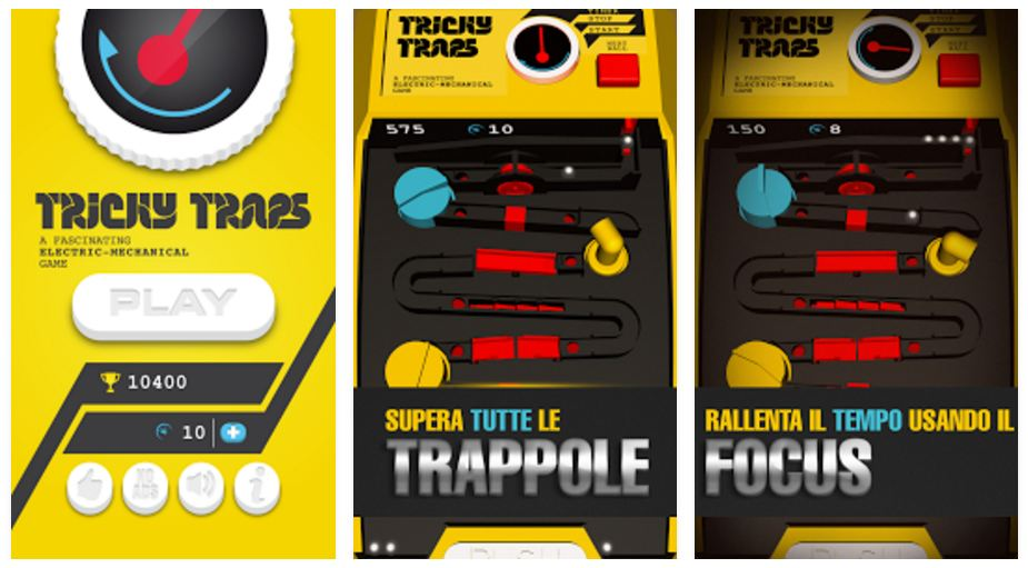 Tricky Traps: il videogioco per Android e iPhone