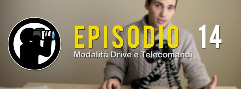 Video Corso di Fotografia: Modalità Scatto e Telecomandi – Lezione 14