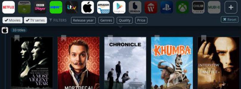 JustWatch: Cerca e trova film streaming online