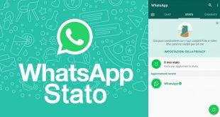 Stato WhatsApp: come si mette, come funziona (Android e iOS)