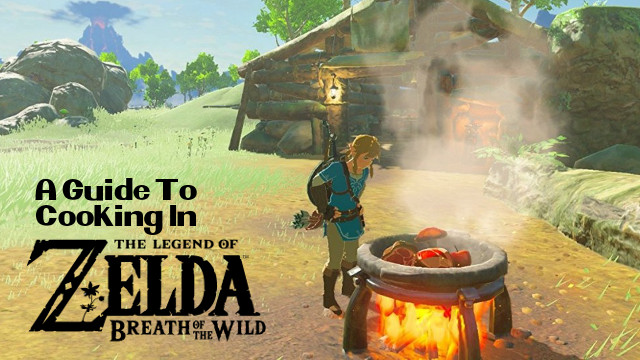 Zelda Breath of The Wild ricettario completo 1