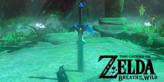 Come trovare la Spada Suprema in Zelda Breath of the Wild