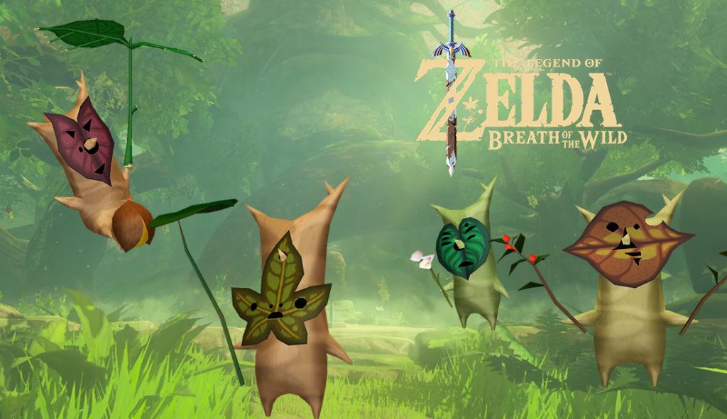 Dove trovare tutti i semi Korogu in Zelda Breath of the Wild