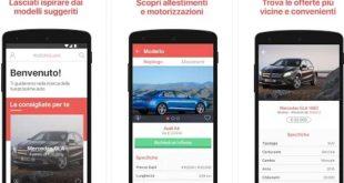 Motorsquare App per scegliere l'auto giusta e risparmiare
