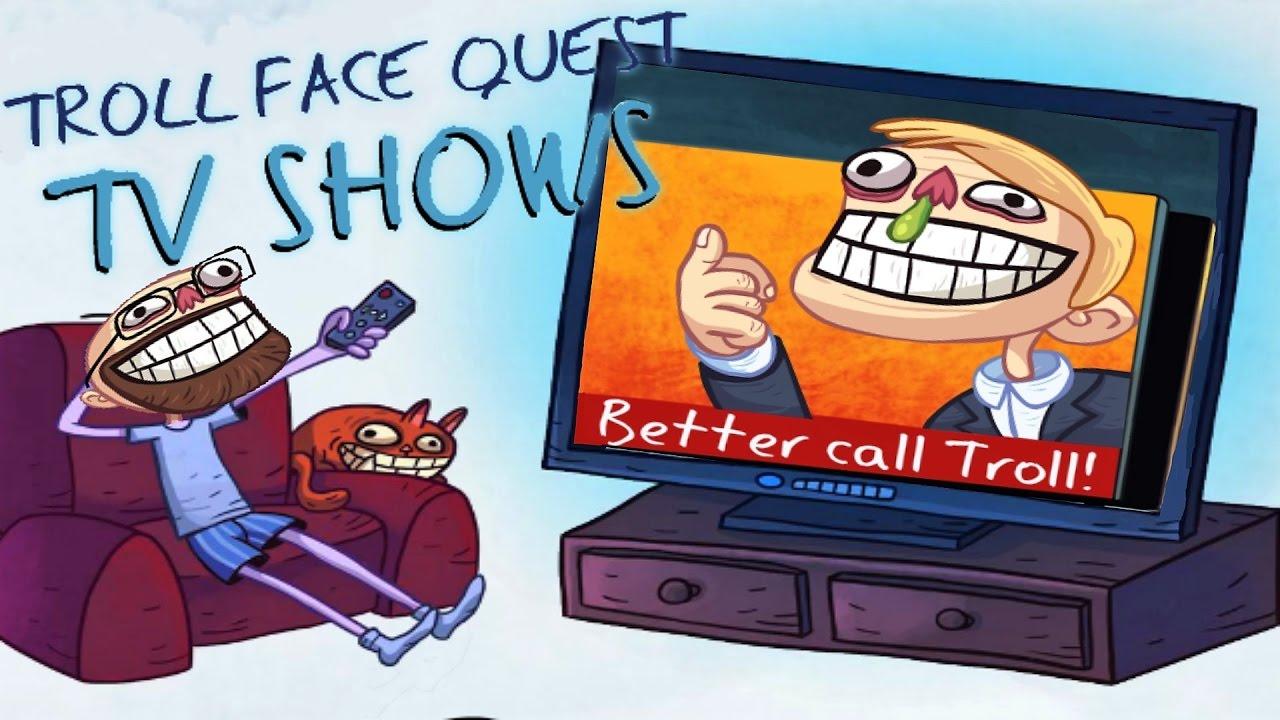 Soluzione Troll Face Quest TV Shows Dal Livello 1 al 35