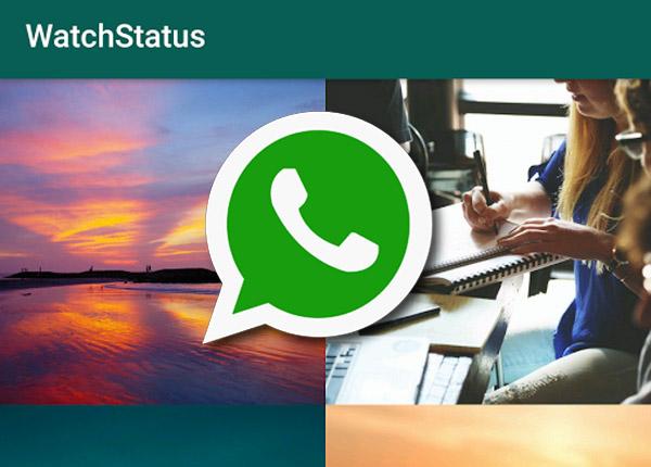 WatchStatus: Salvare gli stati di WhatsApp dei tuoi amici