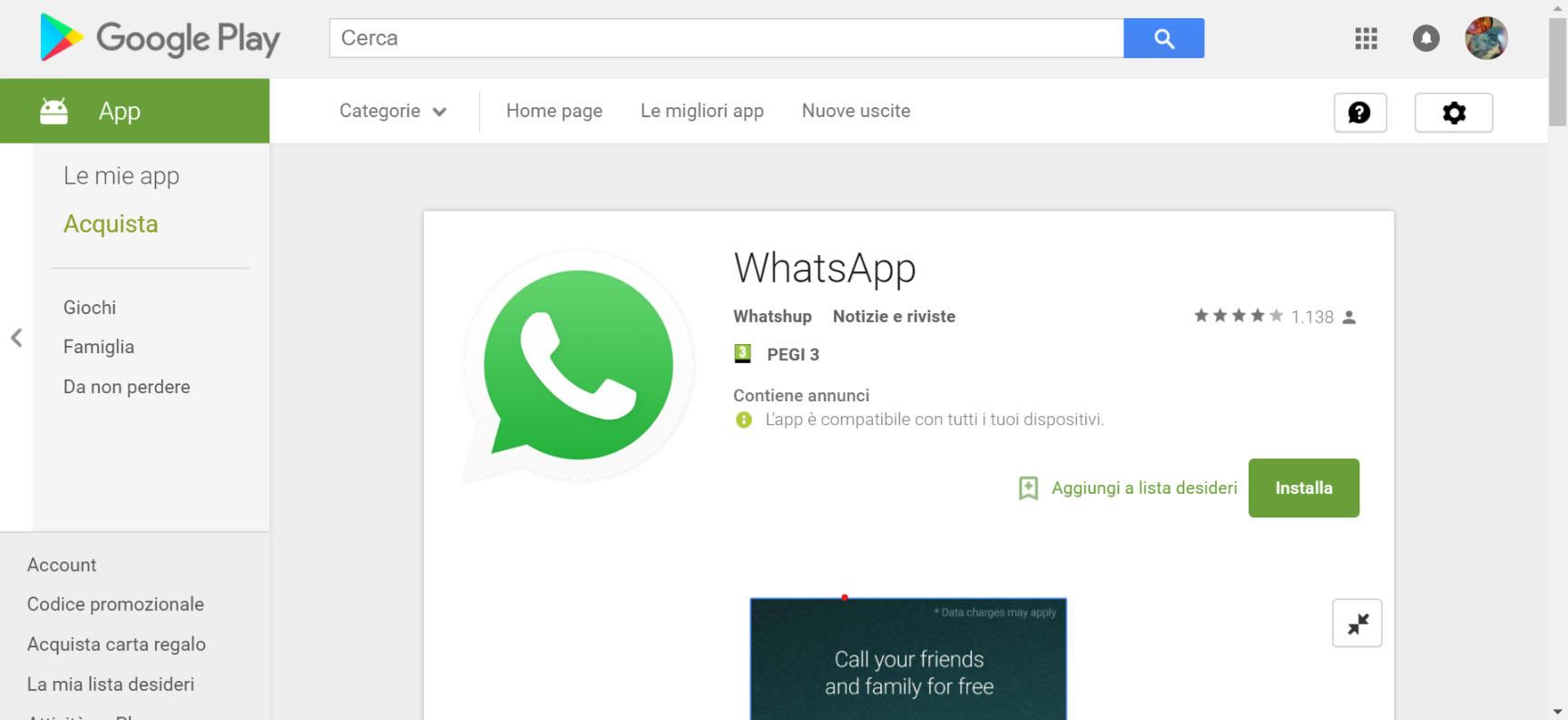 Whatshup la truffa del falso WhatsApp nel Google Play Store 2