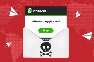 Truffa WhatsApp: virus nascosto in un messaggio vocale