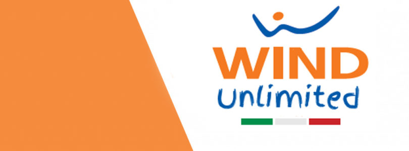 Wind Unlimited: minuti illimitati, 500 sms, 5 Giga da 6€ al mese