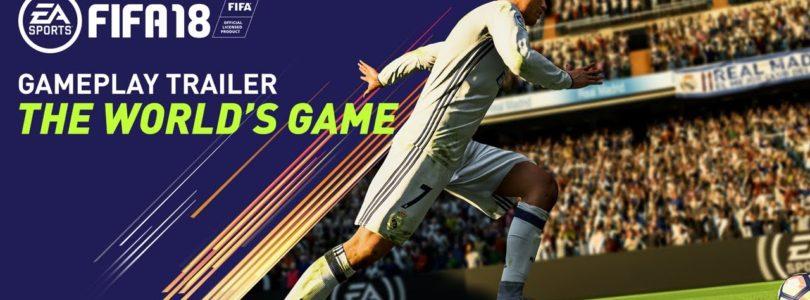 FIFA 18: il primo gameplay trailer