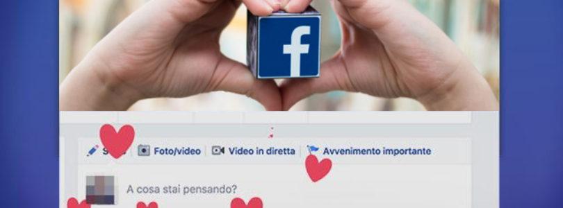 Come fare i Cuoricini Animati su Facebook